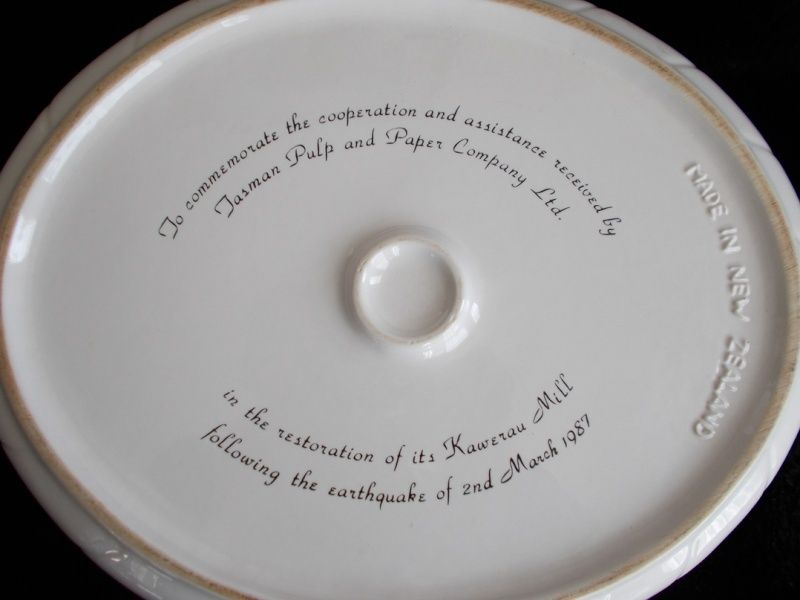 Branded Ware... including Tasman Pulp & Paper dishes Ppm210