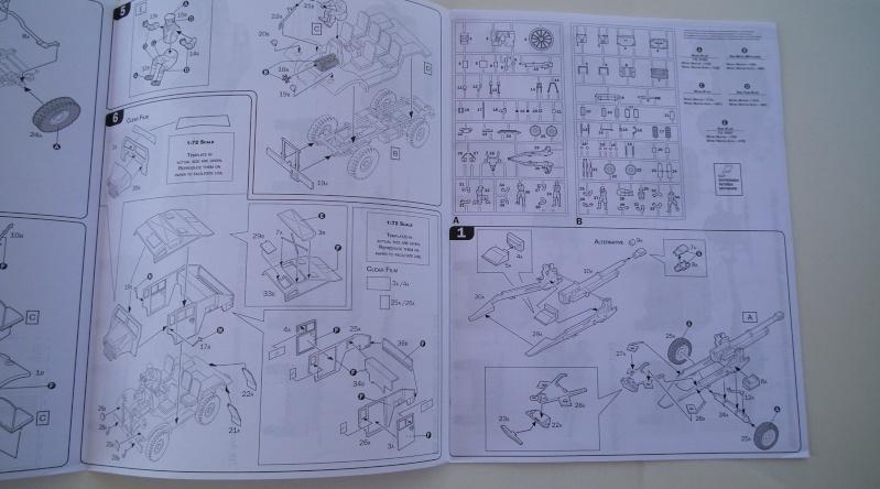 "(italeri) tracteur d'artillerie morris C8 ""le quad"" Dscf4613"