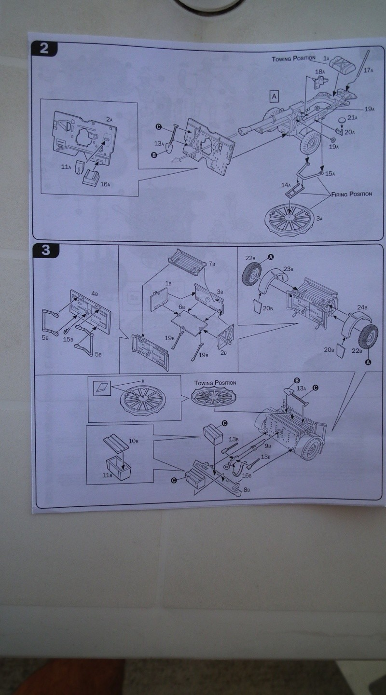 "(italeri) tracteur d'artillerie morris C8 ""le quad"" Dscf4614"