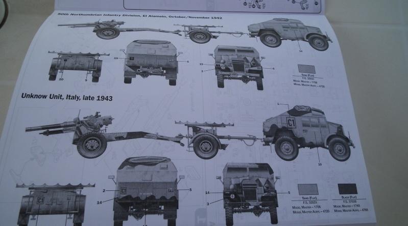 "(italeri) tracteur d'artillerie morris C8 ""le quad"" Dscf4616"