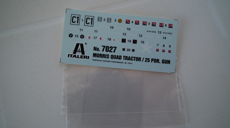 "(italeri) tracteur d'artillerie morris C8 ""le quad"" Dscf4618"