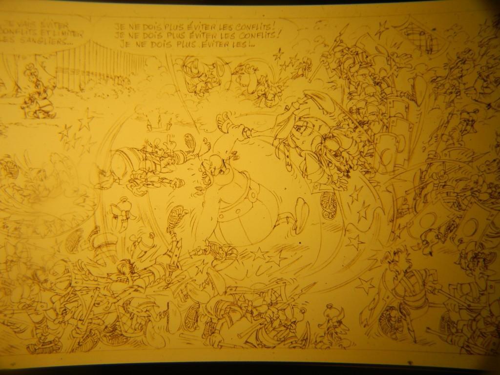 Nouvel album d'Astérix, le Papyrus de Cesar Dscn3213