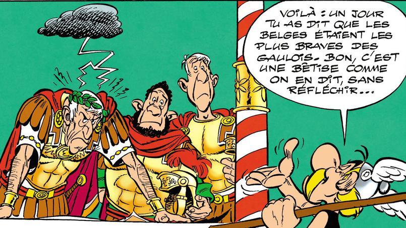 Nouvel album d'Astérix, le Papyrus de Cesar Papyru11