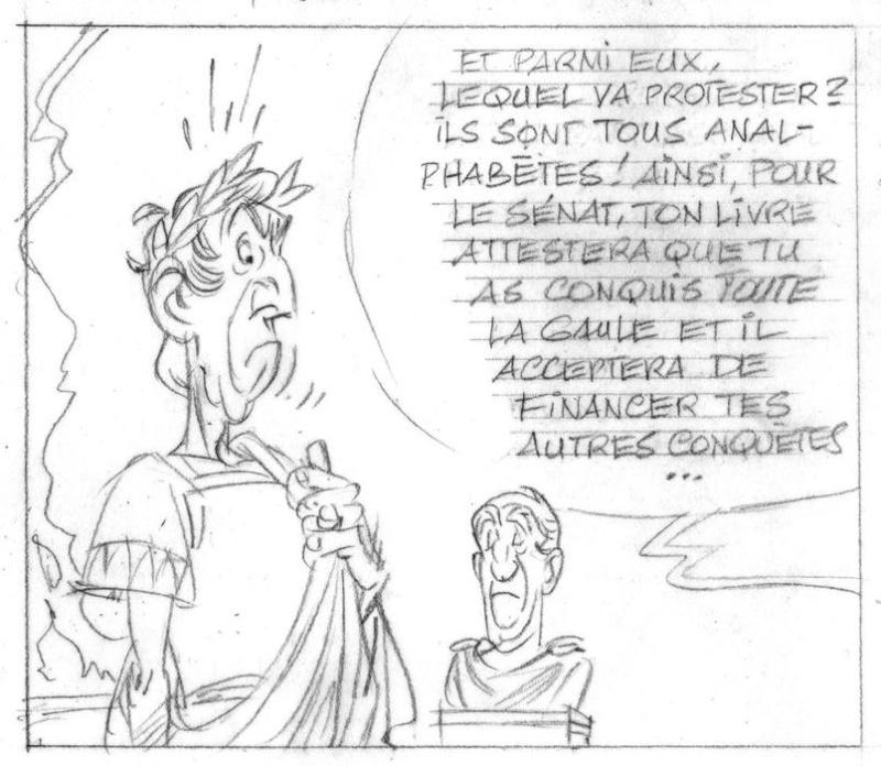 Nouvel album d'Astérix, le Papyrus de Cesar Papyru14
