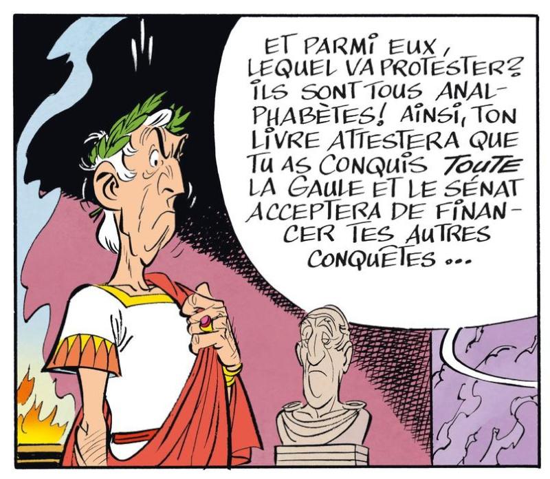 Nouvel album d'Astérix, le Papyrus de Cesar Papyru15