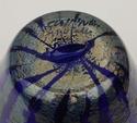 Made in Murano gold striped vase Dsc_2220