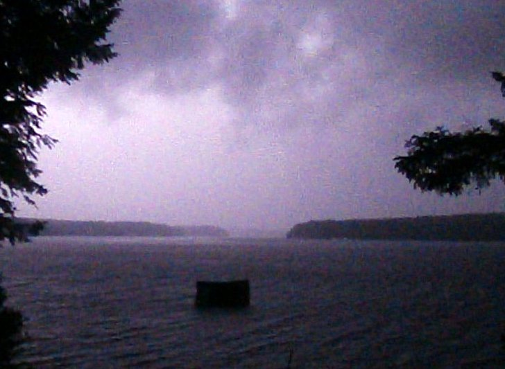 "A ""Space Odessey"" Monolith Visits Wolfeboro During Thunderstorm!  P7270010"