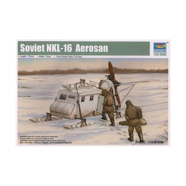 Soviet NKL-16 Aerosan Trumpe11