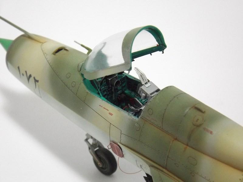 """Mikoyan-Gourevitch MiG-21 PF """"égyptien"""" au 1/48 Dscf1719"""