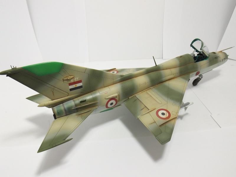 """Mikoyan-Gourevitch MiG-21 PF """"égyptien"""" au 1/48 Dscf1724"""