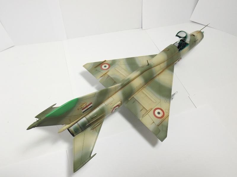 """Mikoyan-Gourevitch MiG-21 PF """"égyptien"""" au 1/48 Dscf1726"""