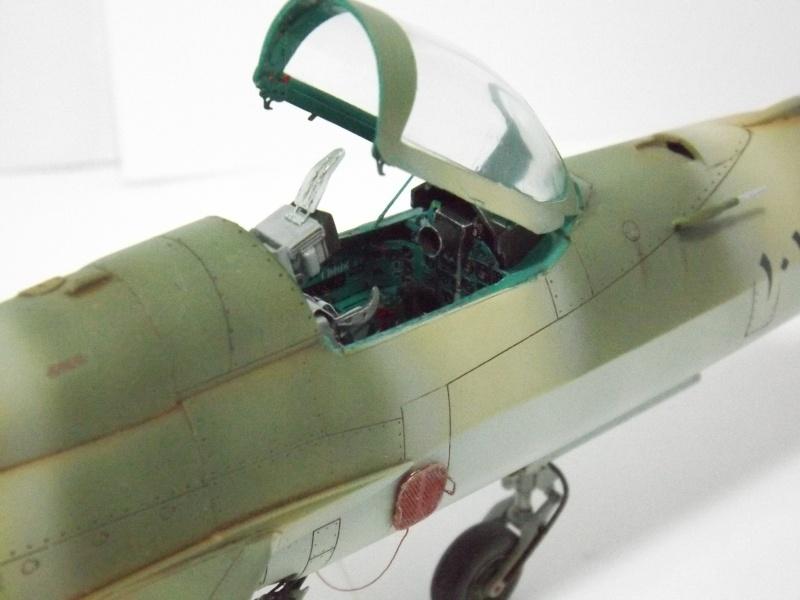 """Mikoyan-Gourevitch MiG-21 PF """"égyptien"""" au 1/48 Dscf1727"""