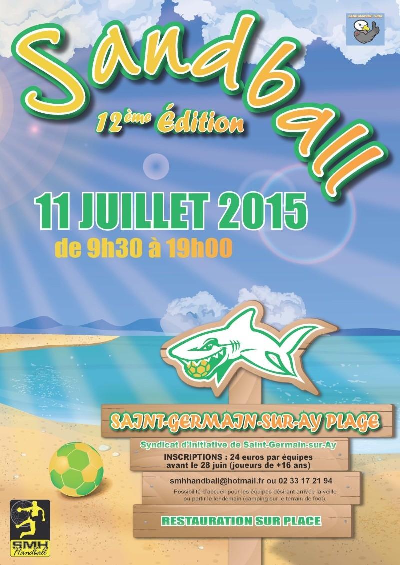 Tournoi Sandball Saint germain sur ay (organisé par la haye du puits) - Page 4 Affich10