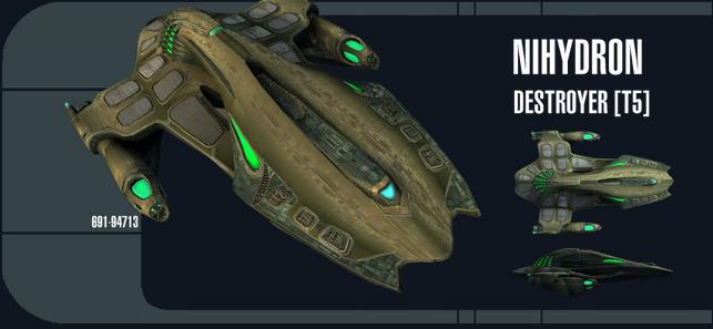 Nihydron Destroyer - Spécifications Captur89