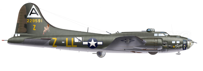 B-17F  The Shamrock Special (revell) 10_1ad10