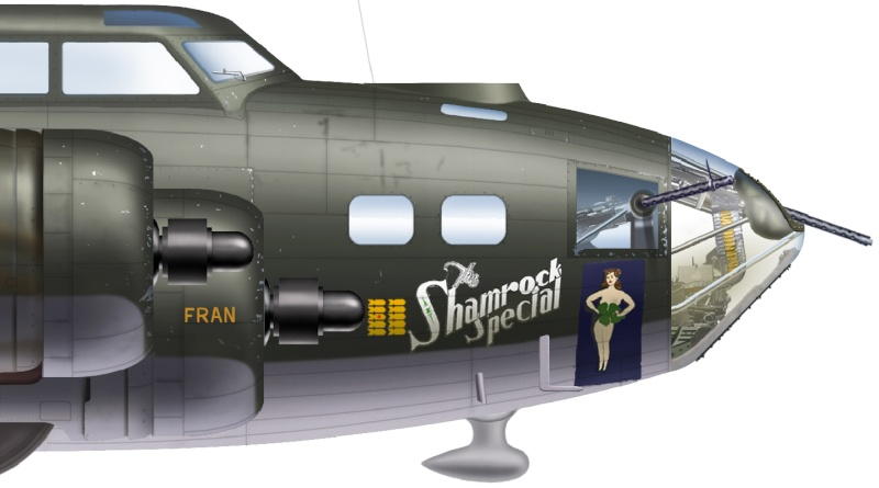 B-17F  The Shamrock Special (revell) 10_cu10