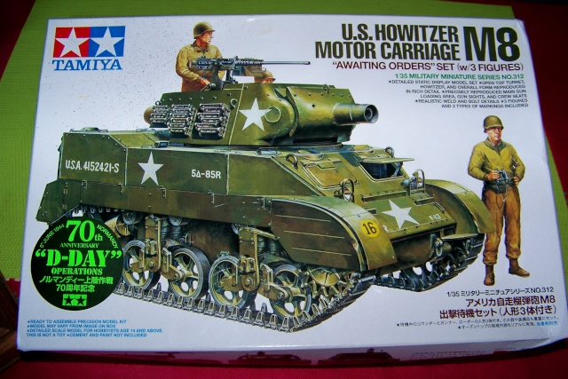 U.S Howitzer M8 motor Carriage Tamiya 1/35 100_9714