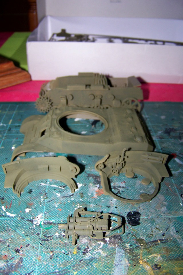 U.S Howitzer M8 motor Carriage Tamiya 1/35 100_9715