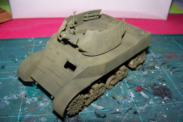 U.S Howitzer M8 motor Carriage Tamiya 1/35 100_9716