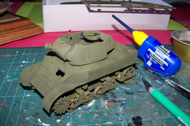 U.S Howitzer M8 motor Carriage Tamiya 1/35 100_9719