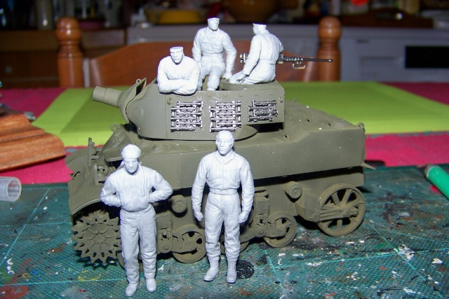U.S Howitzer M8 motor Carriage Tamiya 1/35 100_9724