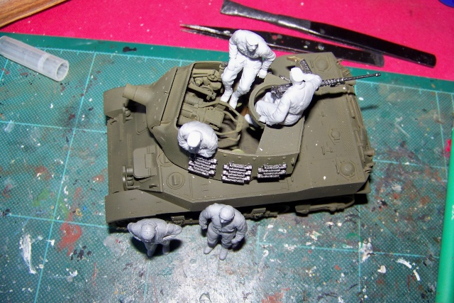 U.S Howitzer M8 motor Carriage Tamiya 1/35 100_9727