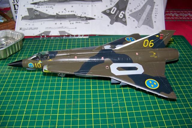 J-35 F DRAKEN 1/48 fini 100_9934
