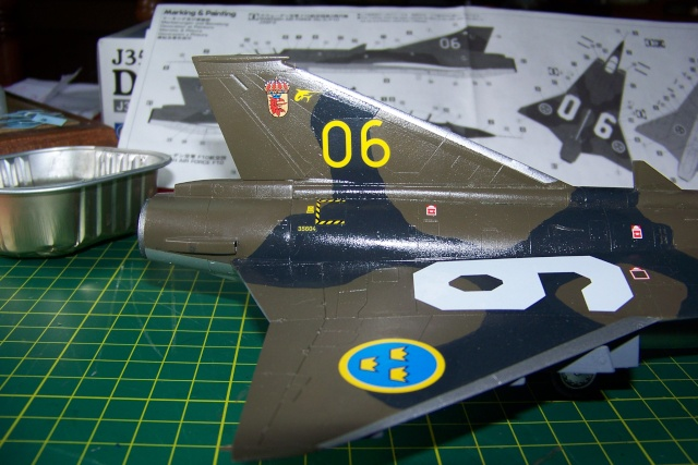 J-35 F DRAKEN 1/48 fini 100_9936
