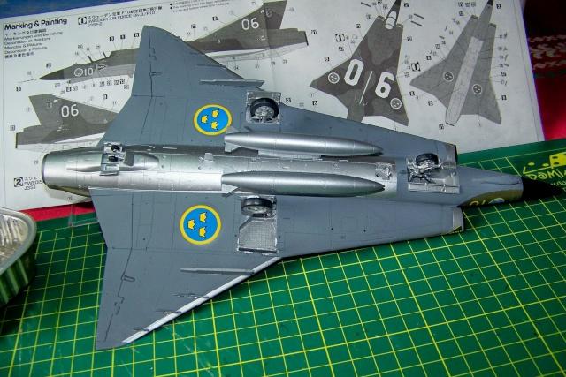 J-35 F DRAKEN 1/48 fini 100_9938