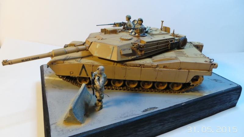 M1A1 Abrams (Italeri n°6438) 1/35 M1a1-110