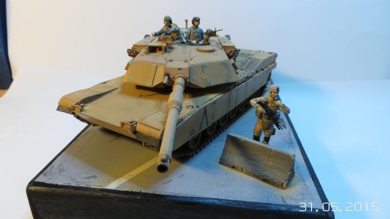 M1A1 Abrams (Italeri n°6438) 1/35 M1a1-210