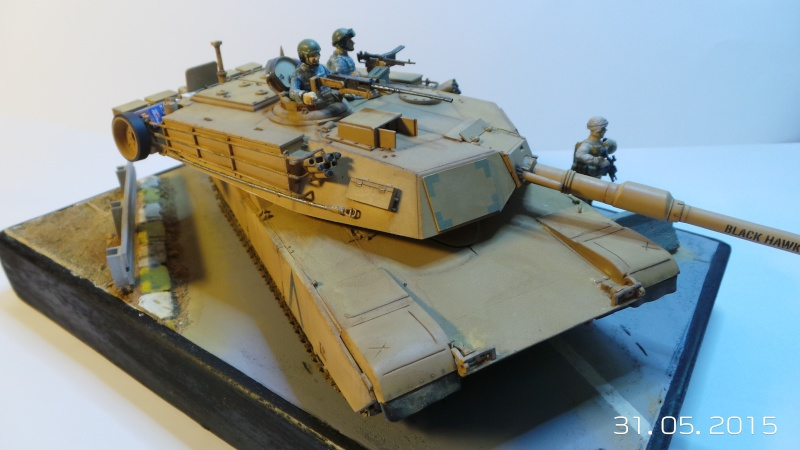 M1A1 Abrams (Italeri n°6438) 1/35 M1a1-310