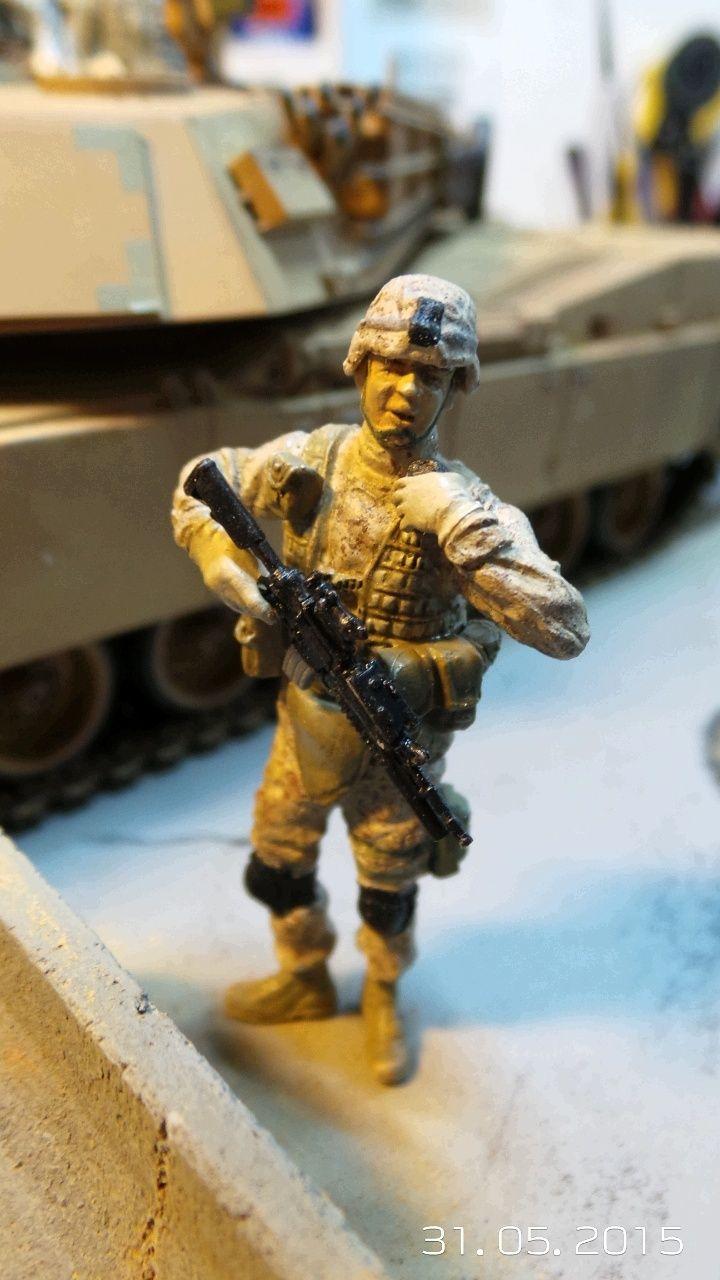M1A1 Abrams (Italeri n°6438) 1/35 M1a1-s10