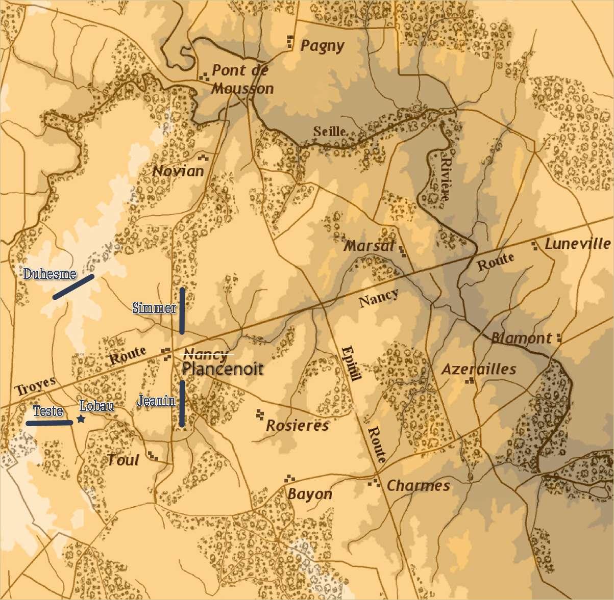 SoWWL Battle Sunday, August 9 20:00 BST: Plancenoit2/Lobau's Decision Plance10