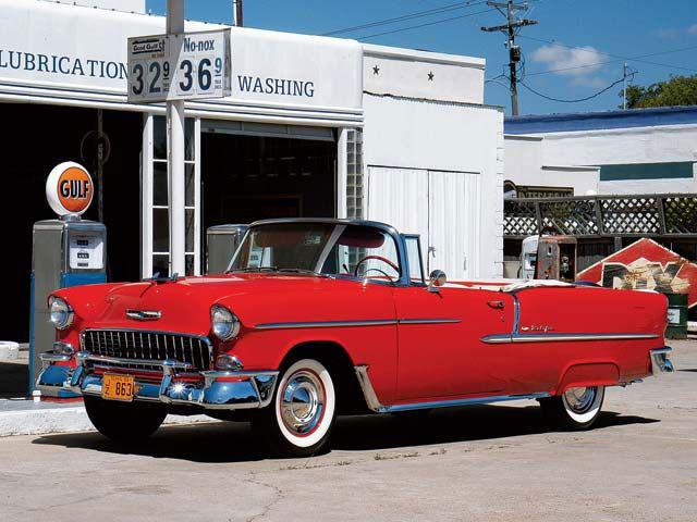 """1955 Chevy Bel Air """"classique"""" ** Terminée ** 115"""