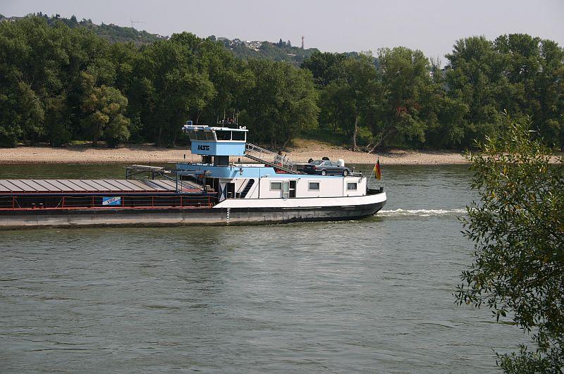 Kleiner Rheinbummel am 13.08.15 in Koblenz Kesselheim 13b11