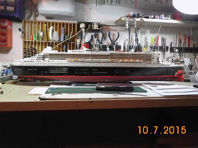 Revell 05223 - Queen Mary 2 1/400 (Weiter-) Baubericht - Fertig - Seite 5 145
