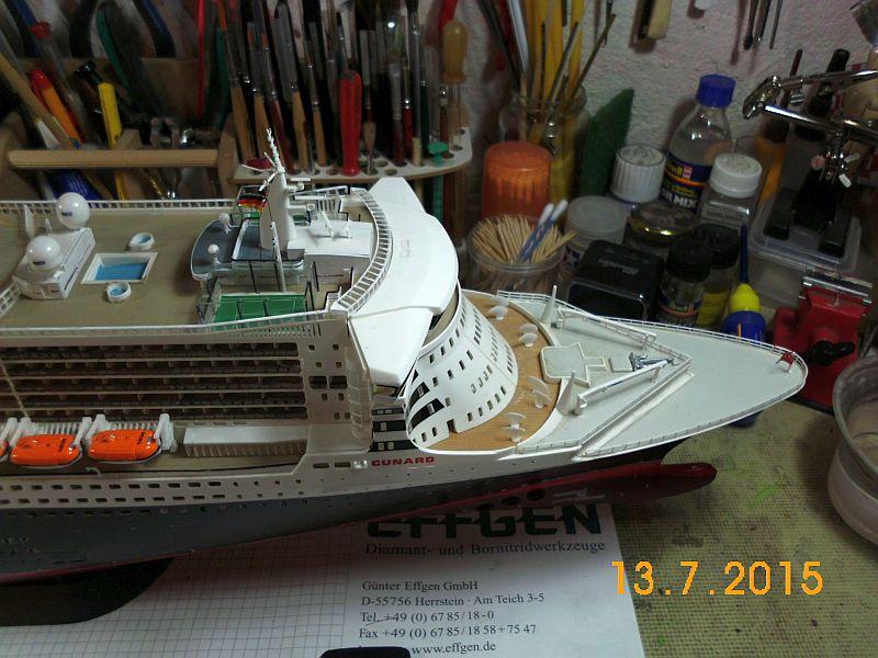 Revell 05223 - Queen Mary 2 1/400 (Weiter-) Baubericht - Fertig - Seite 5 146