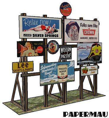 Papermau - Alte Reklametafeln zum kostenlosen Download 151