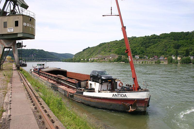Kleiner Rheinbummel am 17.06.15 in Andernach und Koblenz 26anti10