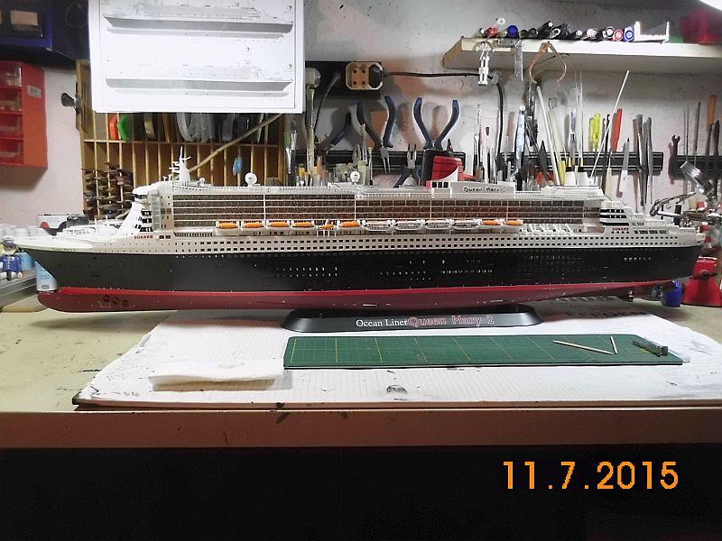 Revell 05223 - Queen Mary 2 1/400 (Weiter-) Baubericht - Fertig - Seite 5 328