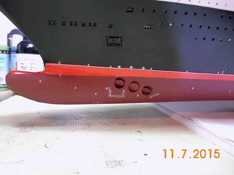 Revell 05223 - Queen Mary 2 1/400 (Weiter-) Baubericht - Fertig - Seite 5 427