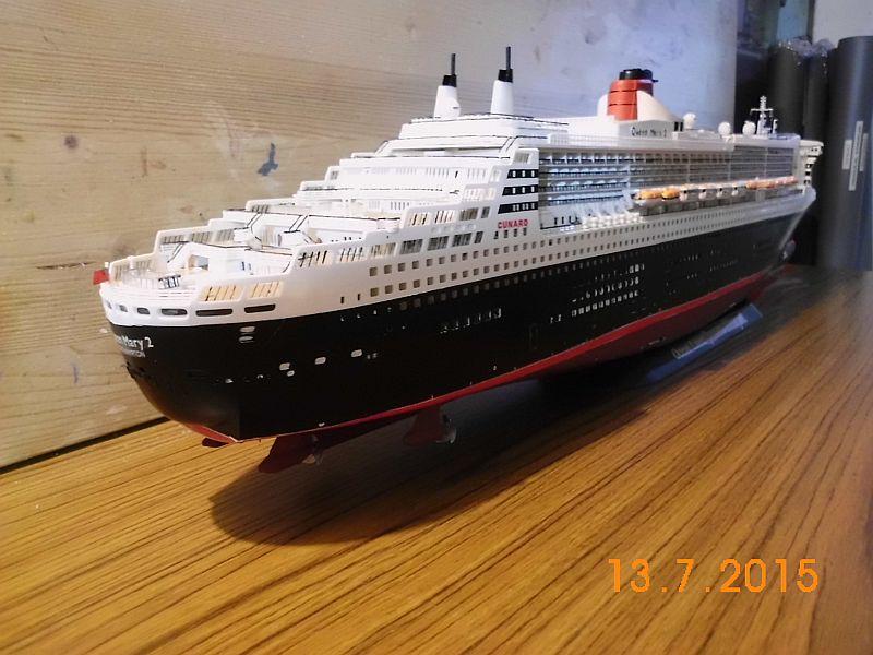 Revell 05223 - Queen Mary 2 1/400 (Weiter-) Baubericht - Fertig - Seite 5 522