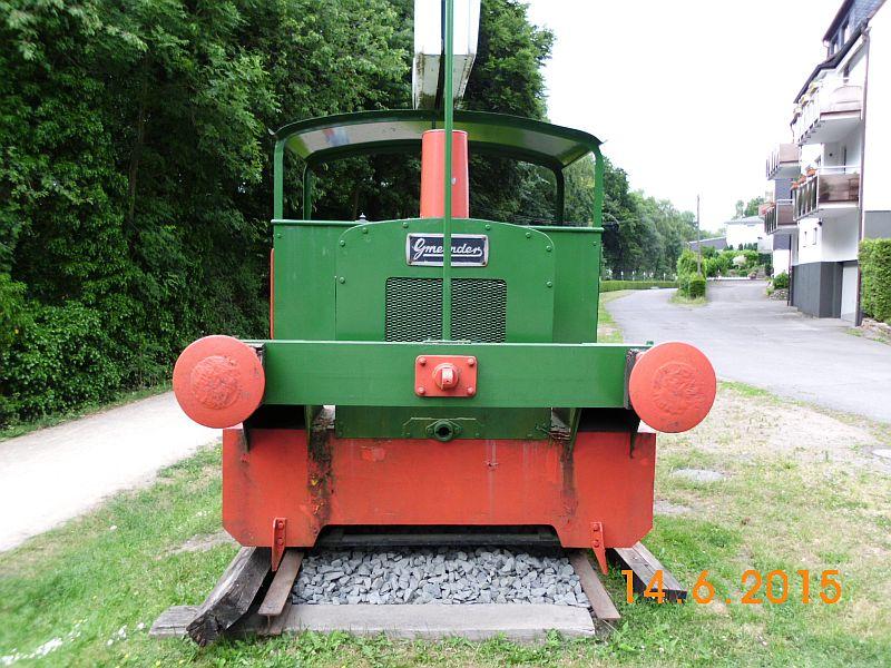 """Gmeinder - Werkslokdenkmal auf der """"Kohlenbahn"""" in Sprockhövel Hasslinghausen 615"""