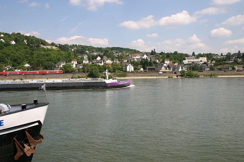 Kleiner Rheinbummel am 11.06.15 in Andernach und Mondorf 7b10