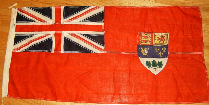 I Bought 3 ww2 flags 2 french 1 Canadian Hpim1310