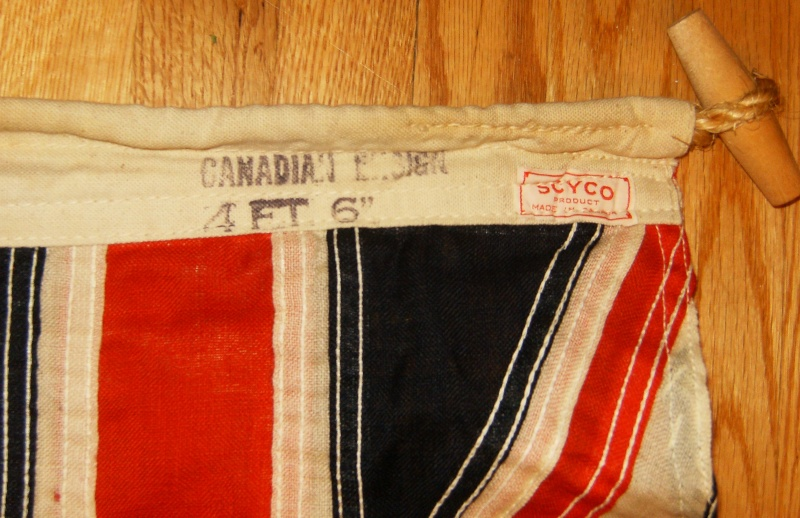 I Bought 3 ww2 flags 2 french 1 Canadian Hpim1311