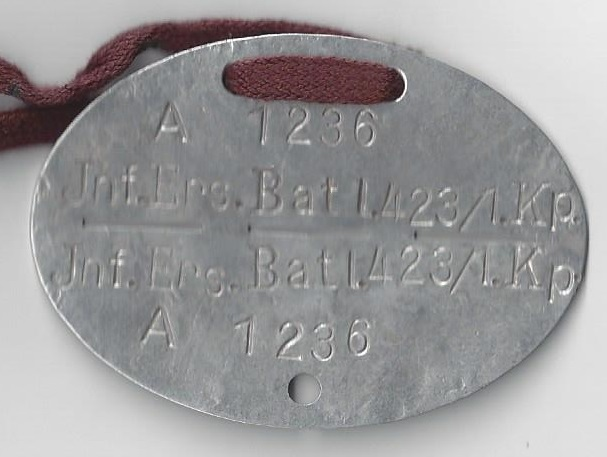 Trying to learn more about this German ID Tag plz help? Scan0010