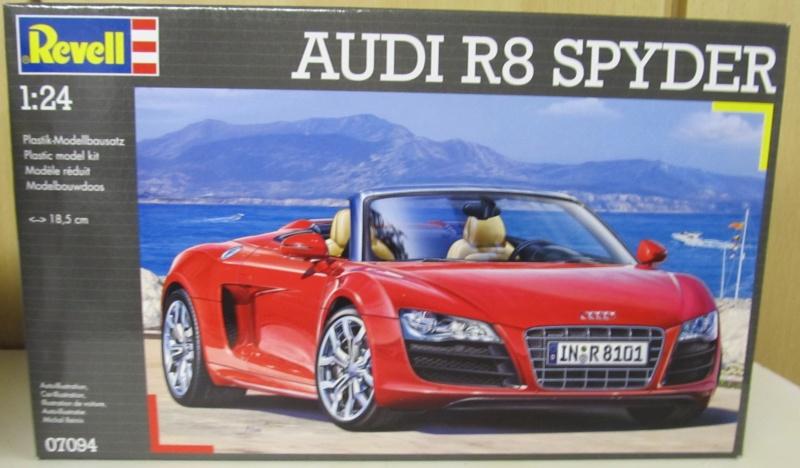 Audi R8 Spyder in 1 zu 24 von Revell Audi_r10