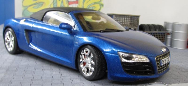 Audi R8 Spyder in 1 zu 24 von Revell Img_3420